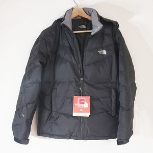 North Face Puff Jacket Youth XXL NWT Black 700